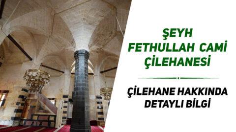 Şeyh Fethullah Cami Çilehanesi | Çilehane Hakkında Detaylı Bilgi