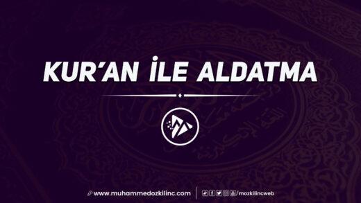Kur'an ile Aldatma