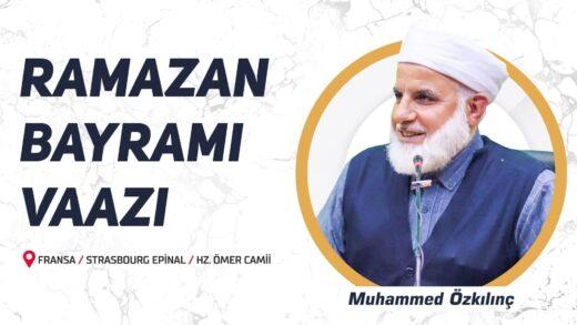 Ramazan Bayramı Vaazı – Épinal Hz. Ömer Camii