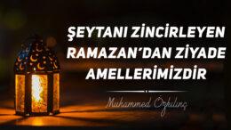 Şeytanı Zincirleyen Ramazan'dan Ziyade Amellerimizdir!